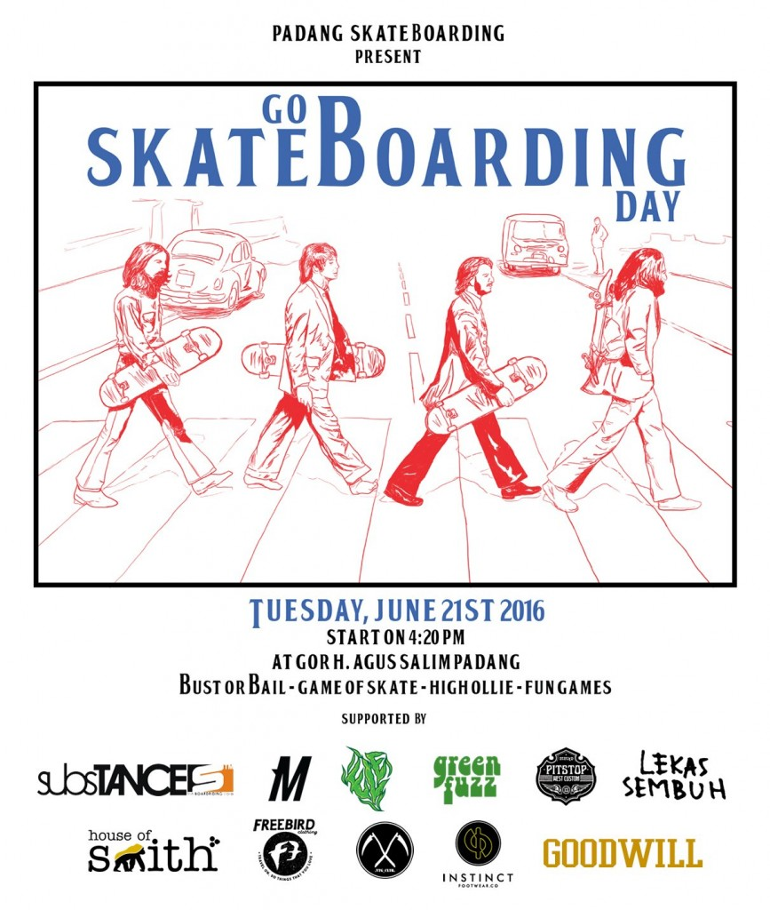 Go Skateboarding 2016 chapter Padang