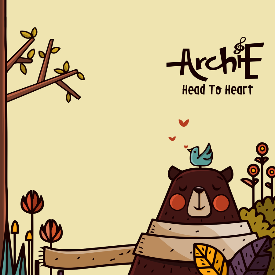 "Album ""Head to Heart"" dari ArchiE (Courtesy of ArchiE)"