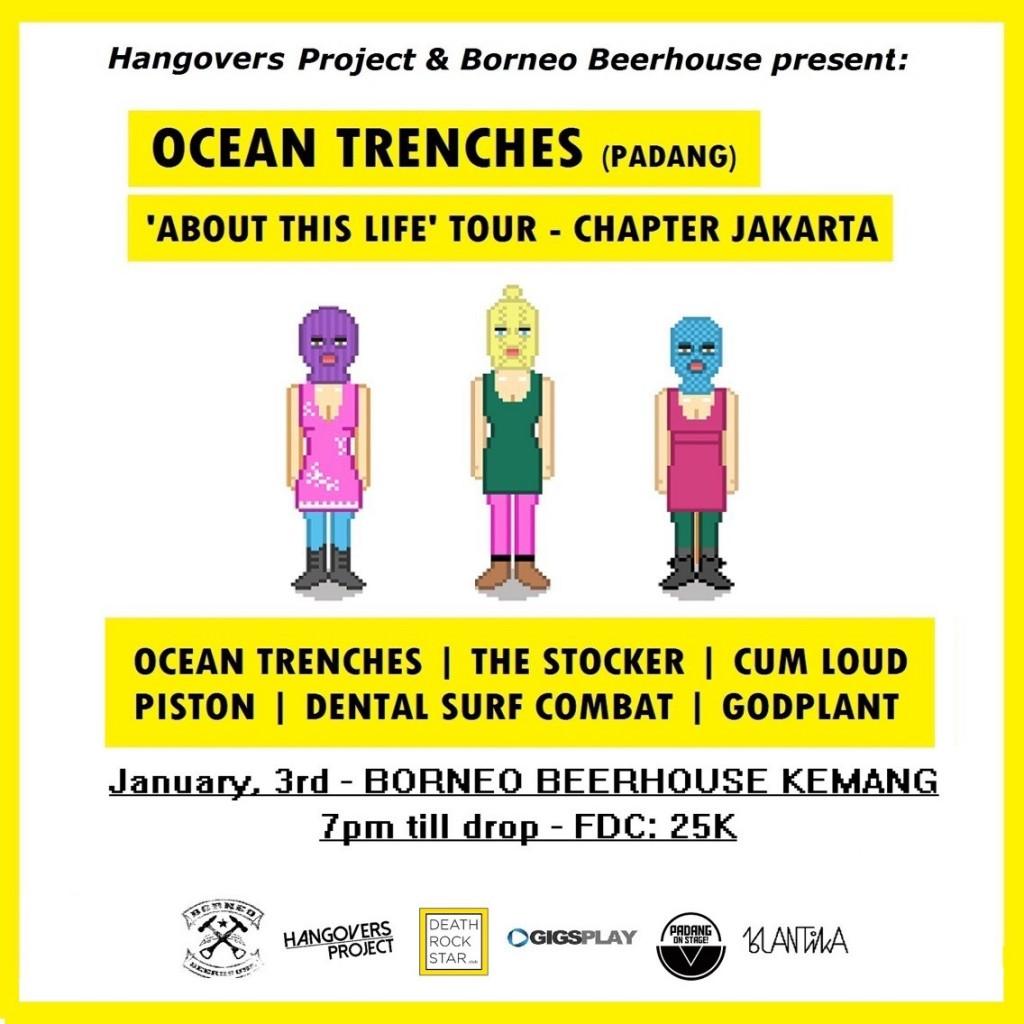 Jadwal Ocean Trenches di Jakarta